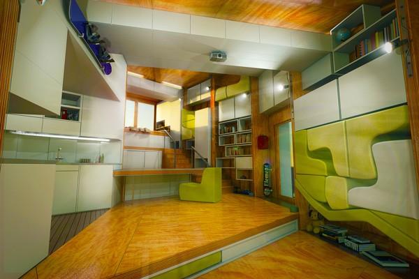 Chip House - Ngôi nhà điều khiển bằng Xbox Kinect