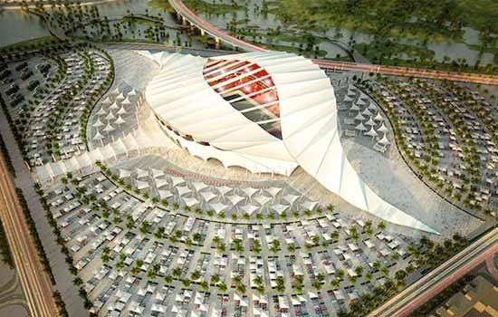 Các sân bóng hoành tráng cho World Cup 2022