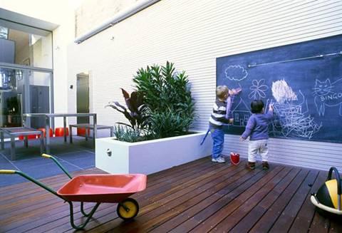 Khu vườn thân thiện với trẻ em