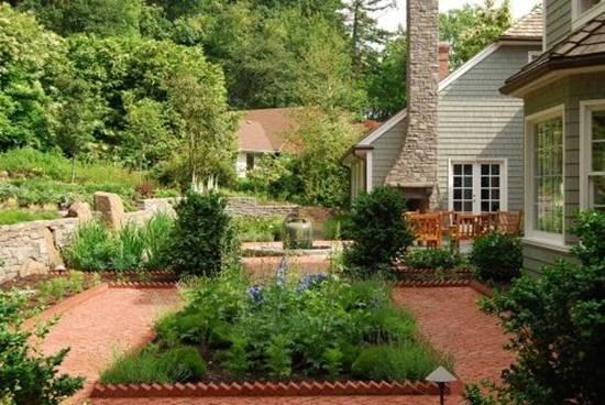 Tạo dáng cho khu vườn xinh xắn