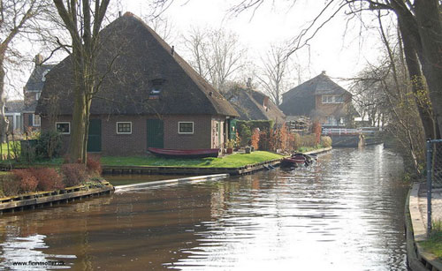 10 ngôi làng nổi tuyệt đẹp trên thế giới
