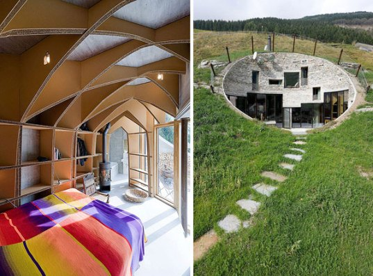 Những công trình ẩn mình dưới lòng đất kỳ diệu