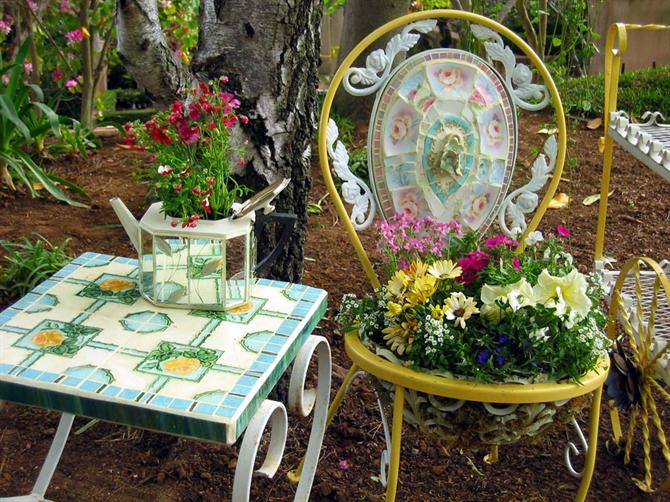 Sân vườn và những góc thư giãn thú vị