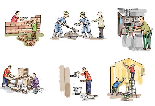 Năm 2012 quá tuyệt để xây nhà
