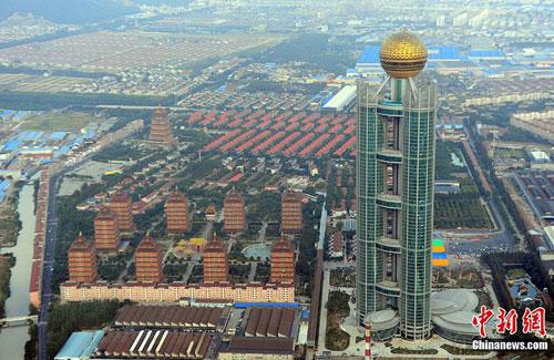 Làng giàu nhất Trung Quốc khai trương khách sạn xa hoa