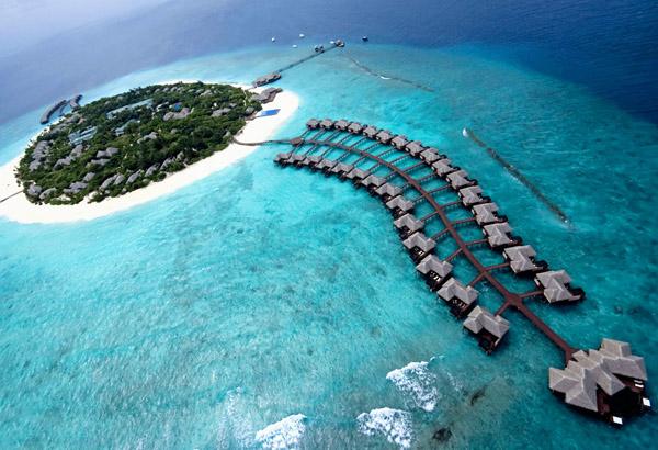 Mê mẩn với thiên đường Maldives rực rỡ