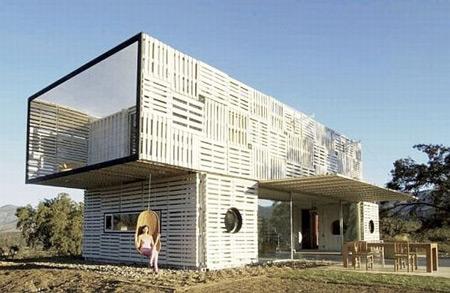 Những ngôi nhà tái chế... đẹp ngỡ ngàng (P2)