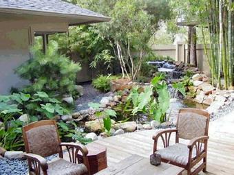 san%20vuon%20nho2 Thiết kế phong thủy cho sân vườn nhỏ, bạn đã biết chưa?