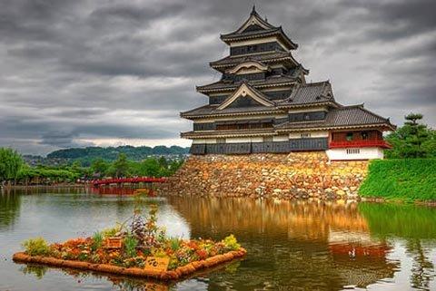 5 lâu đài cổ hoành tráng nhất châu Á
