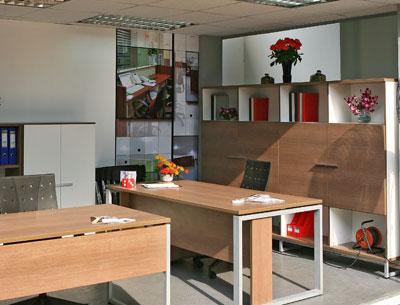 Điều chỉnh nội thất văn phòng
