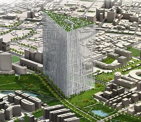 Ngắm nhà thép cao 300m trị giá 220 triệu USD