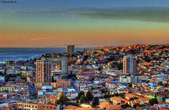 Những thành phố nhiều màu sắc nhất trái đất