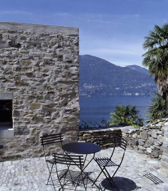 Ngôi nhà bằng đá đẹp nhất thế giới