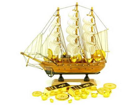 Thuyền phong thủy cho thương nhân