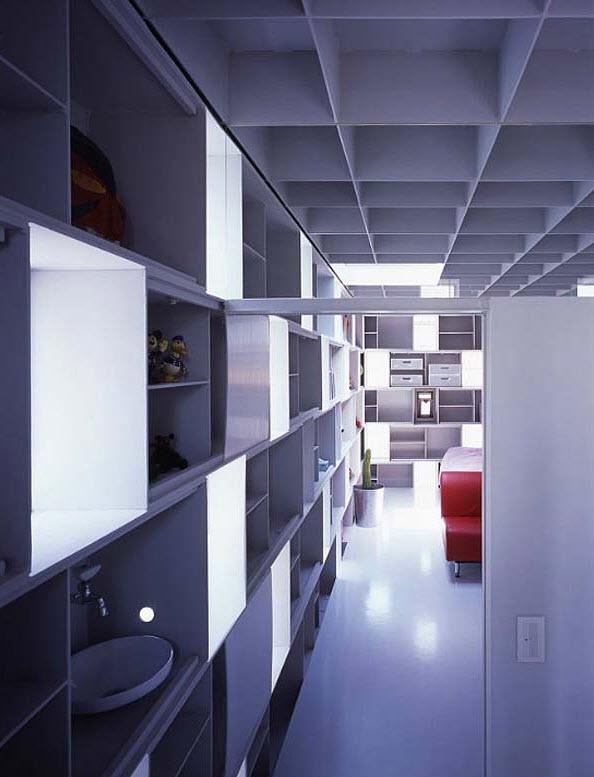 Kiến trúc nhà với vô số cửa sổ