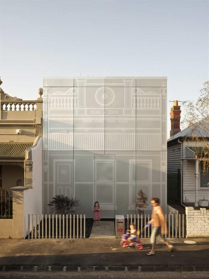 Ngôi nhà chạm khắc Kavellaris Urban Design