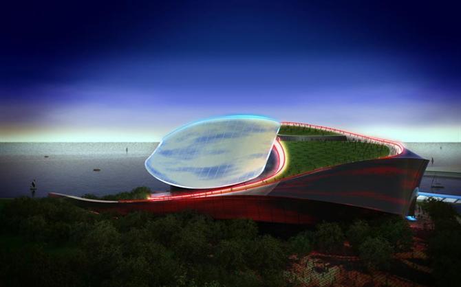 Độc đáo kiến trúc nhà hát opera Busan, Hàn Quốc