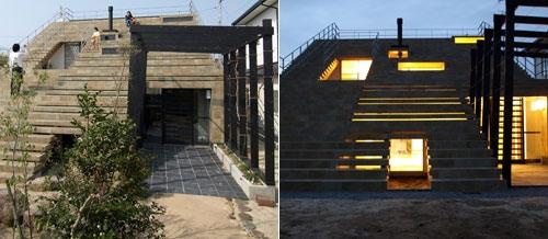 Nhà... cầu thang