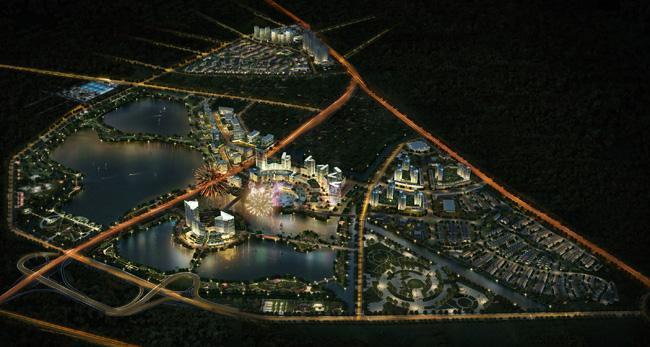 Gamuda City: Khu đô thị hồ Yên Sở