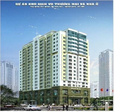 Tổ hợp thương mại và căn hộ 25 phố Tân Mai