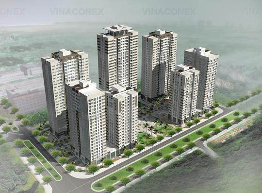 Cụm nhà ở hỗn hợp tại Lô B3 - Khu đô thị Nam cầu Trần Thị Lý