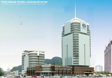 Tổng quan và quy mô khu tổ hợp thương mại ngã 6   Tỉnh Bắc Ninh