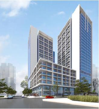 Tổng quan và quy mô khu tổ hợp thương mại, căn hộ Liên Minh – Bình Phú