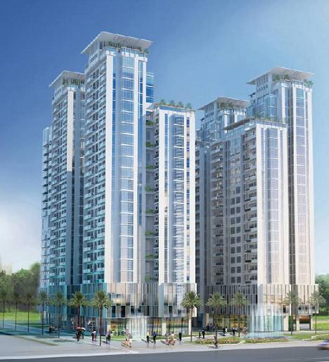 Cao ốc căn hộ Phú An