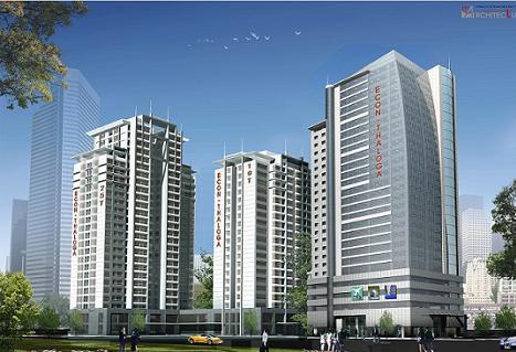 Tổ hợp thương mại, căn hộ Thaloga – Eco