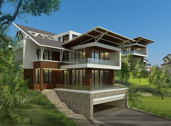 Full%20House bietthu Tổng quan và quy mô Full House: Biệt thự nghỉ dưỡng áp dụng công nghệ xanh