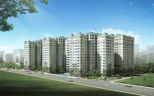 Tổng quan và quy mô Thái Sơn Apartment: Khu căn hộ cao cấp cạnh sân bay Tân Sơn Nhất