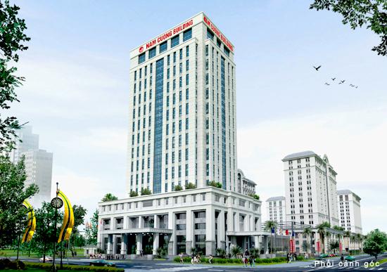 Toanha Vanphong Nam Cuong Tổng quan và quy mô Nam Cường Building: Cao ốc văn phòng Tập đoàn Nam Cường