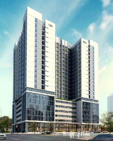 Tổ hợp văn phòng, căn hộ HUD3 - Hanel Building