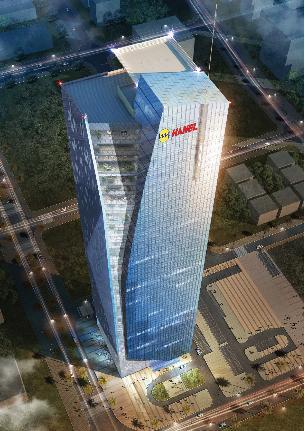 Tổ hợp văn phòng, thương mại Vimeco – Hanel Tower