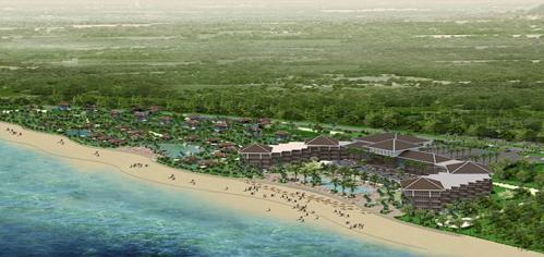 KDL Nghiduong Hong phuc Tổng quan và quy mô khu du lịch nghỉ dưỡng Hồng Phúc