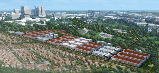 Tổng quan và quy mô khu dân cư Đức Hoà Residence