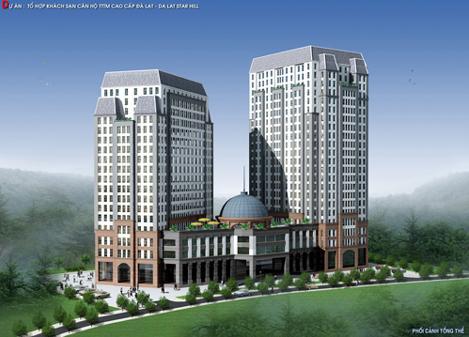 Tổ hợp căn hộ, thương mại DaLat Star Hill