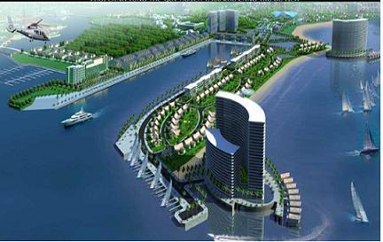 Marina Residences: Khu phố cảng tại Nam Tuần Châu