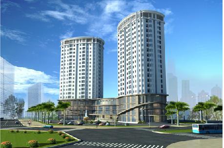 Tổ hợp thương mại, căn hộ Tecco Tower - Hà Tĩnh