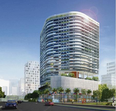Tổng quan và quy mô Tổ hợp căn hộ, thương mại Vinaland Tower