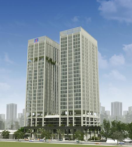 PTSC tower1 Tổng quan và quy mô PTSC Tower: Khu phức hợp văn phòng nhà ở hiện đại ở Tp.vũng Tàu