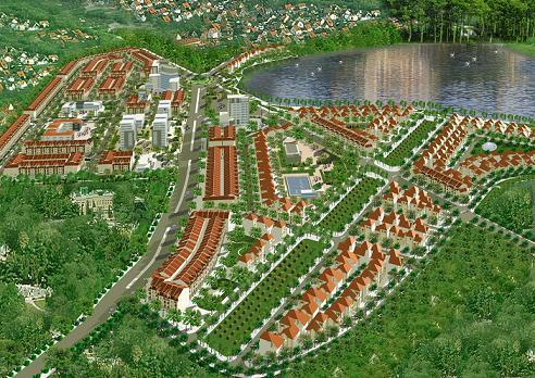Tongthe KDT Xuan%20Hoa1 Tổng quan và quy mô khu đô thị Xuân Hòa