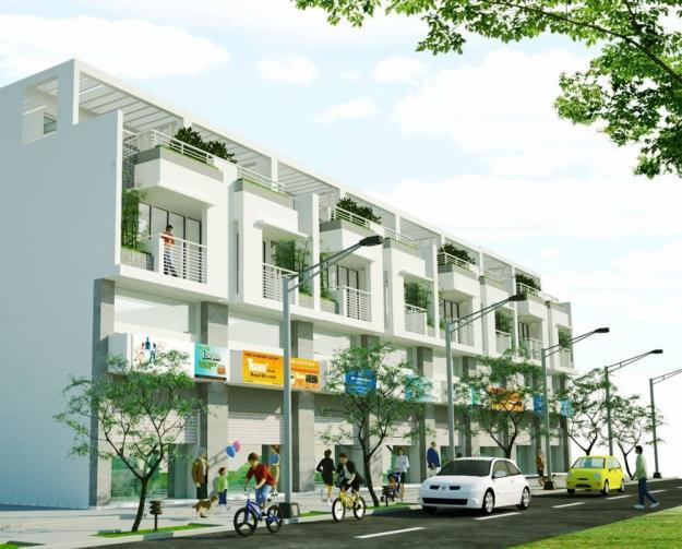 Elegance Town nhapho Tổng quan và quy mô khu phố thương mại Elegance Town
