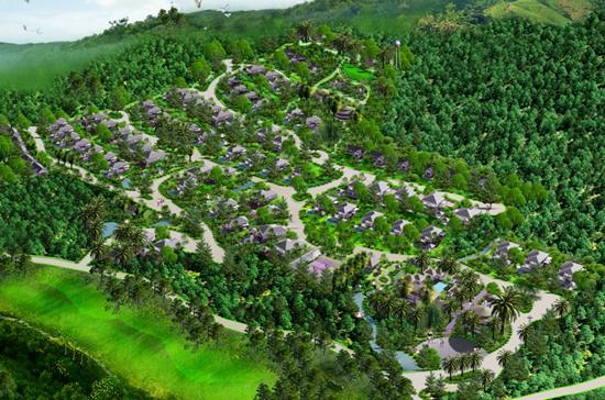 Phối cảnh toàn khu Tophill Villas