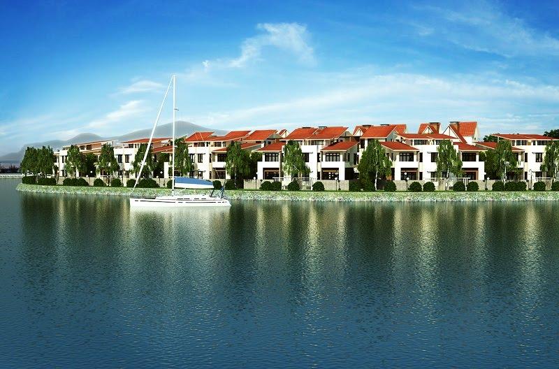 Khu biệt thự Hồ Thiên Nga