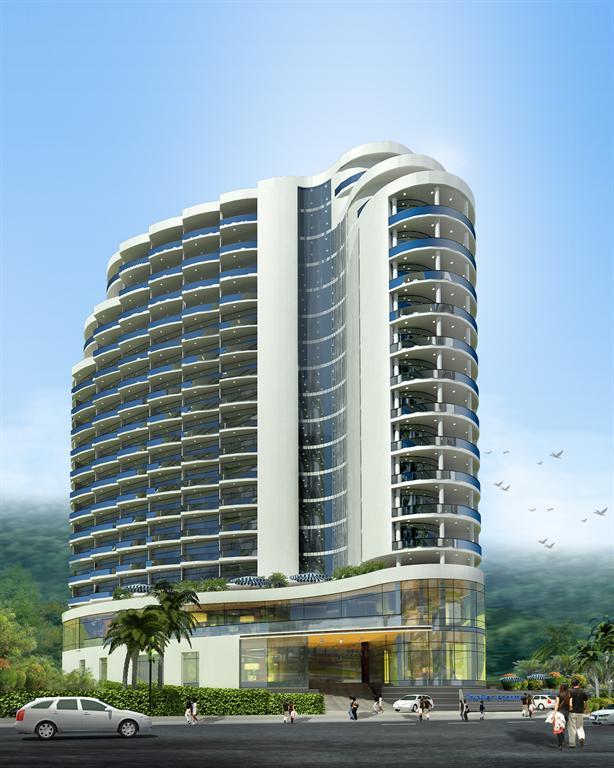 thuy%20tien%201 Tổng quan và quy mô Thủy Tiên Resort: Tiền hướng biển, hậu tựa núi