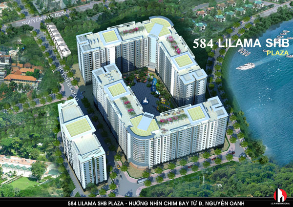 584 Lilama SHB Plaza: Căn hộ với 2 mặt giáp sông