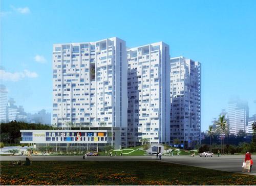 Aquila Plaza: Căn hộ với khoảng không gian xanh