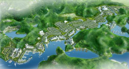 Cat Ba %20Amatina Tổng quan và quy mô Cát Bà Amatina: Khu nghỉ dưỡng sinh thái trên Vịnh Hạ long