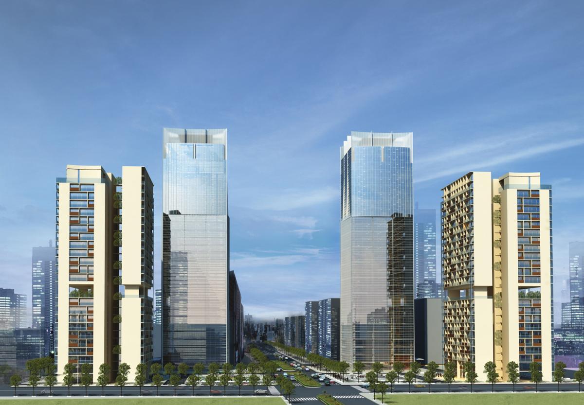 Central%20Linhdam%20Plaza1 Tổng quan và quy mô Central Linhdam Plaza: Cao ốc văn phòng   Căn hộ cao cấp tại bán đảo Linh Đàm